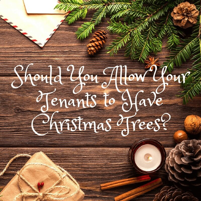 Should You Allow Your Tenants to Have Christmas Trees?